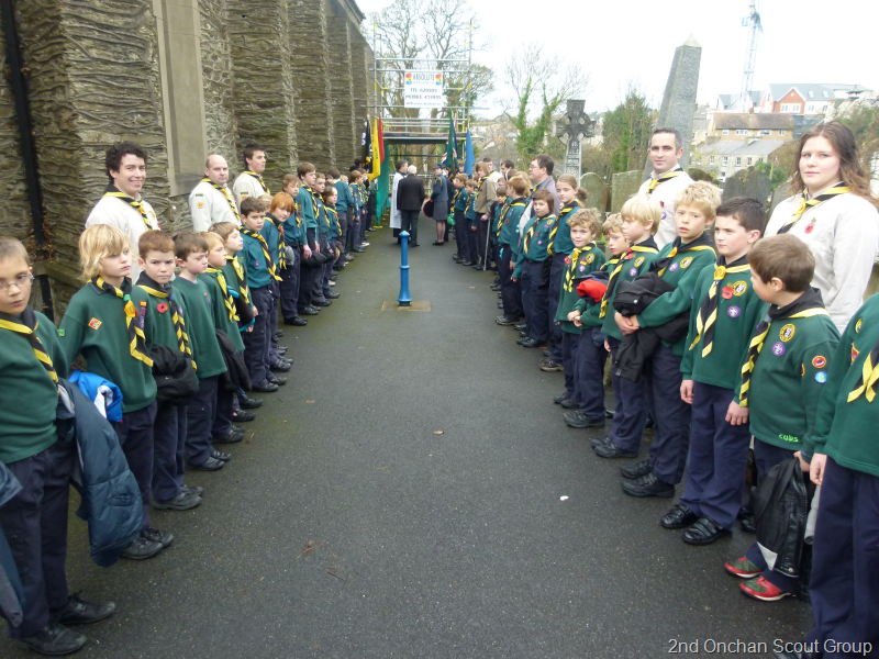 Image result for onchan scouts parade