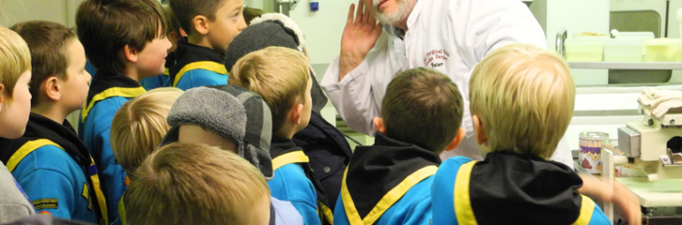 Beavers Visit the Fudge Factory