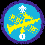 Musician Staged Activity Badge