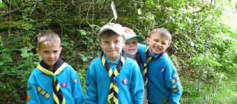 Thursday Beavers Have Fun Orienteering