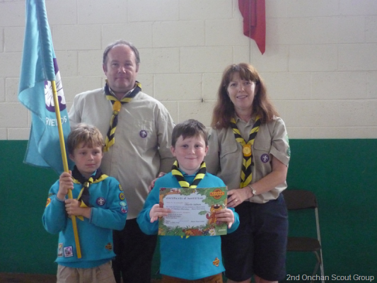 Thursday Beavers Investitures & Activity Badges