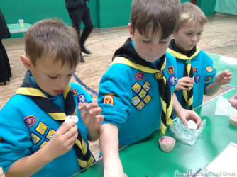 Beavers: Cakes & Chief Scouts Bronze Award