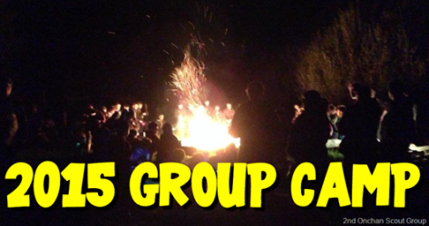 Group Camp – Date Confirmed