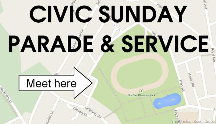 Civic Sunday Parade – 17. May 2015
