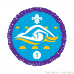 2nd Onchan Achieve their Swimming Badges