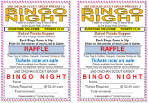 Bingo Night – 9. March 2018