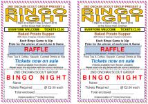 Bingo Night – 9. March 2018