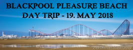 Blackpool Pleasure Beach Day Trip